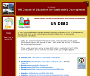 United Nations decade of education for sustainable development (un-desd)Thumbnail