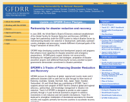 GFDRR: Global Facility for Disaster Reduction and RecoveryThumbnail