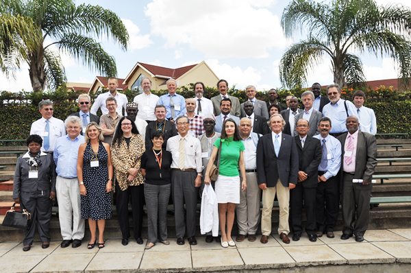 UNESCO Strategic and High Level Meeting on Water Security and Cooperation, Nairobi 11-13September 2013, UNESCO Water Family picture